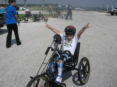 Hand Cycling Around Dallas
